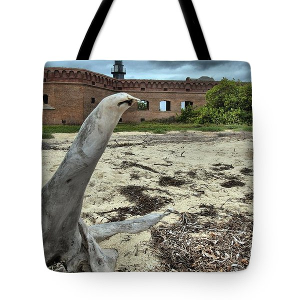 Wooden Seal Tote Bag by Adam Jewell