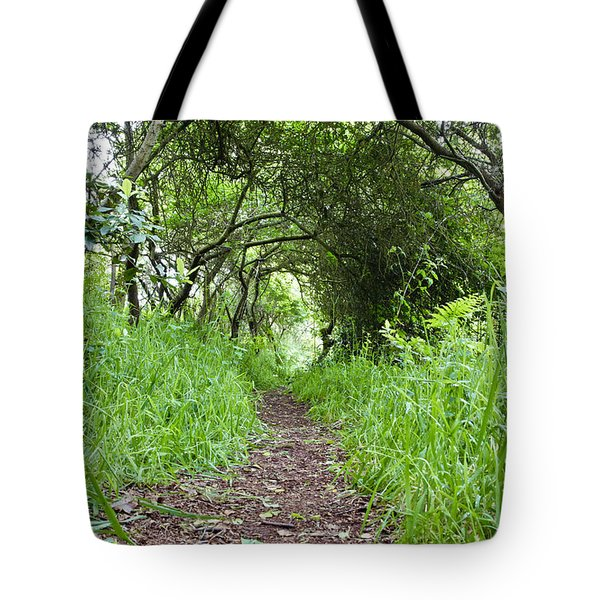 Woodland Pathway Tote Bag by Tom Gowanlock