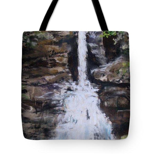 Woodland Waterfall Tote Bag by Jack Skinner