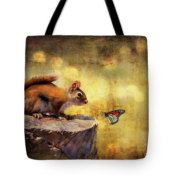 Woodland Wonder Tote Bag by Lois Bryan