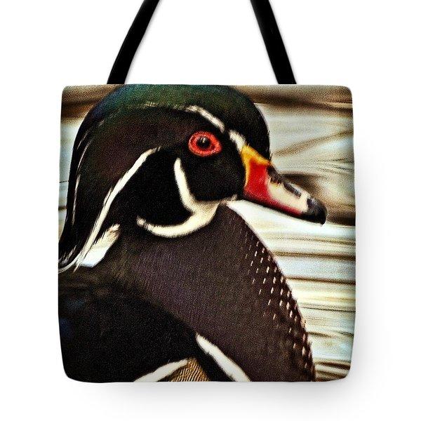 Woody Tote Bag by Marty Koch
