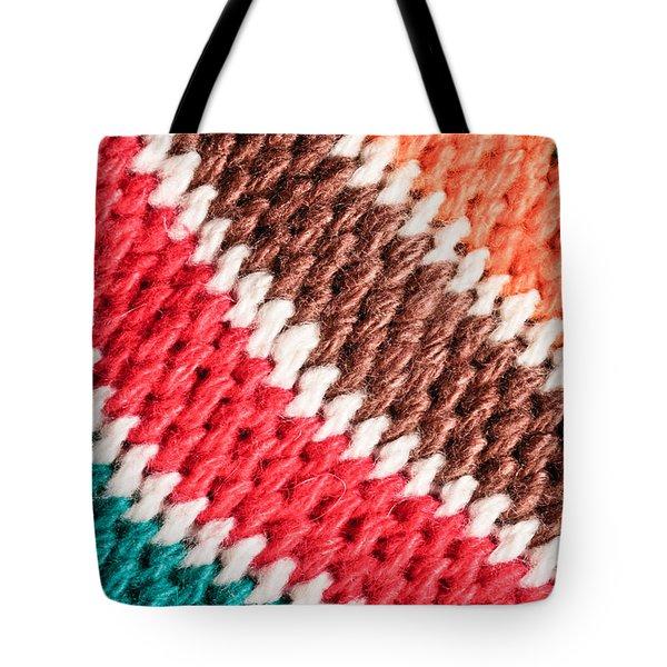 Wool Knitwear Tote Bag by Tom Gowanlock