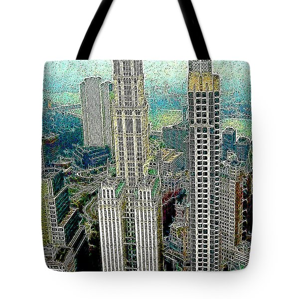 Woolworth Building New York City 20130427 Tote Bag by Wingsdomain Art and Photography