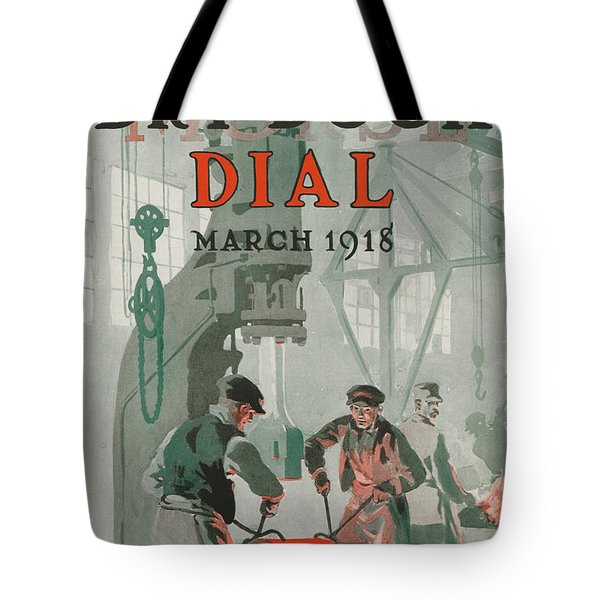 Workers At Shipyard Tote Bag by Edward Hopper