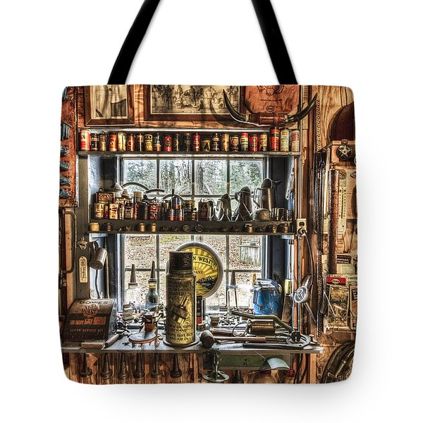 Workshop Tote Bag by Debra and Dave Vanderlaan