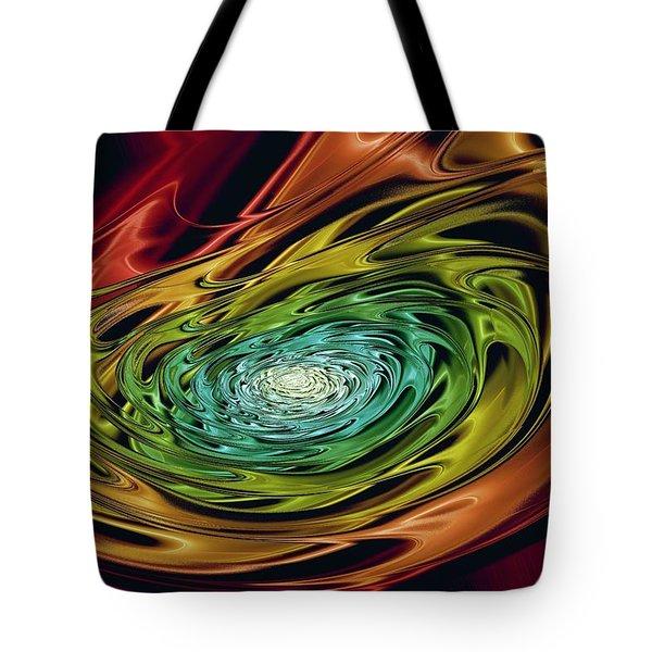 World In Her Hands Tote Bag by Anastasiya Malakhova