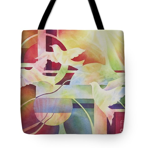 World Peace 2 Tote Bag by Deborah Ronglien