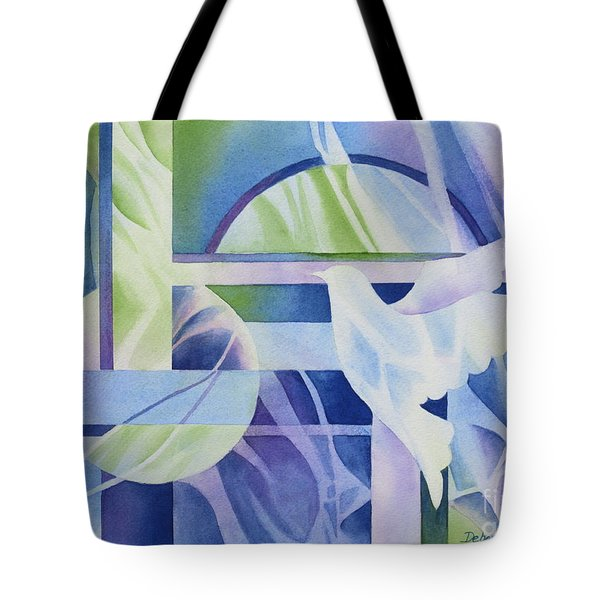 World Peace 3 Tote Bag by Deborah Ronglien