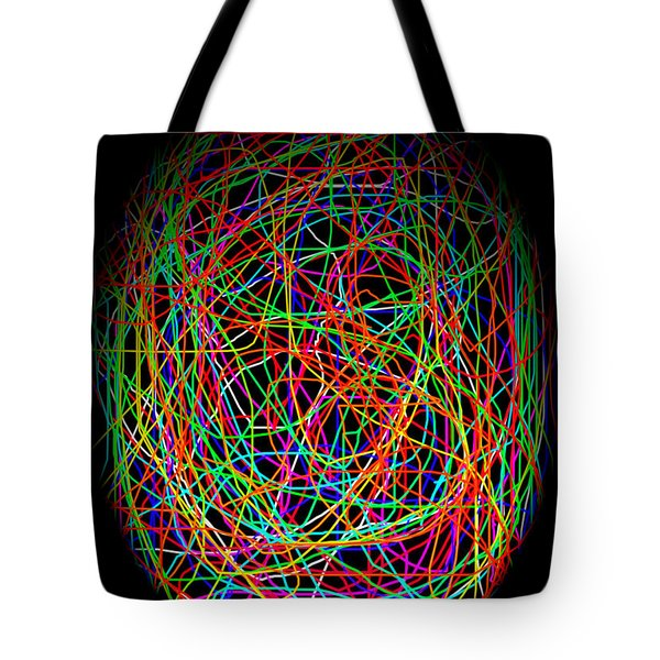 World Web Tote Bag by Aidan Moran
