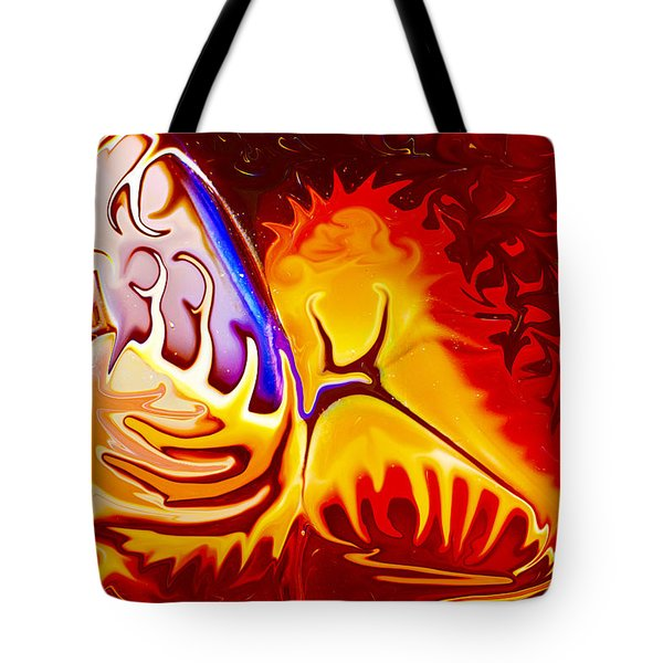 Worlds Collide Tote Bag by Omaste Witkowski