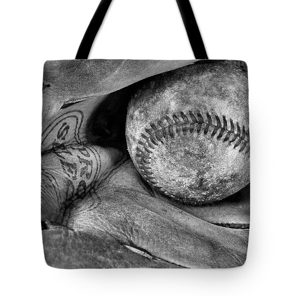 Worn In BW Tote Bag by JC Findley