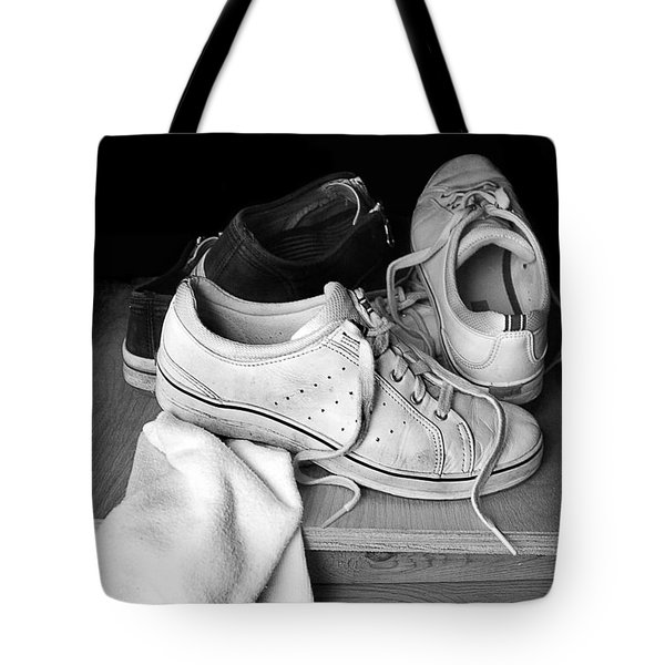Worn Tote Bag by Marcia Colelli