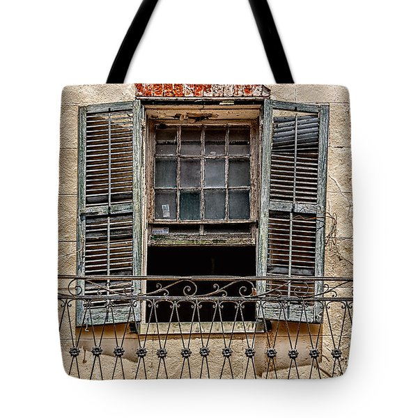 Worn Window Tote Bag by Christopher Holmes