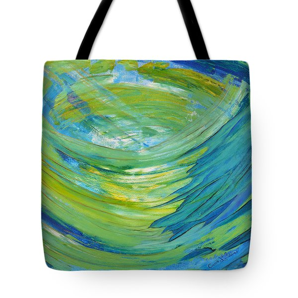 Worship Tote Bag by Cassie Sears