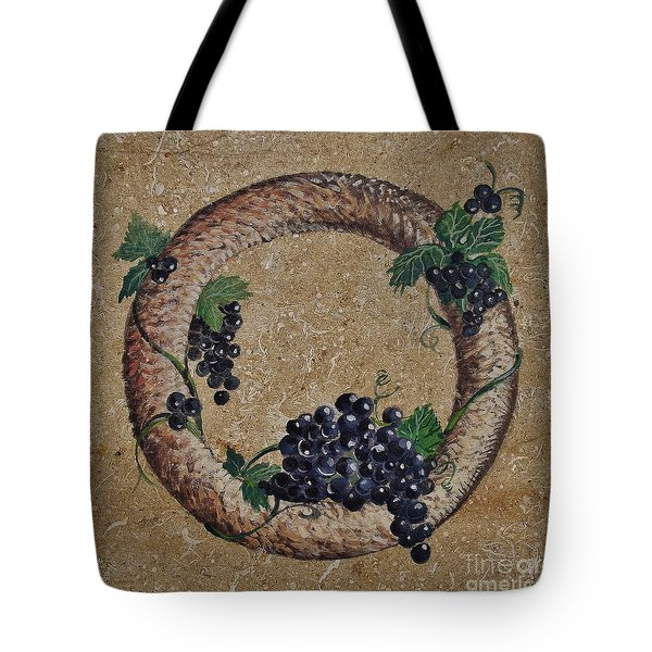 Wreath 3 Tote Bag by Andrew Drozdowicz
