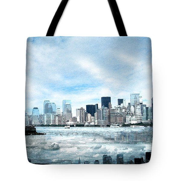 Wrong Expectations New York City Usa Tote Bag by Sabine Jacobs