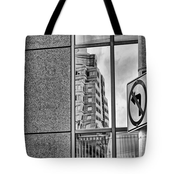 Wrong Way Tote Bag by Dan Sproul