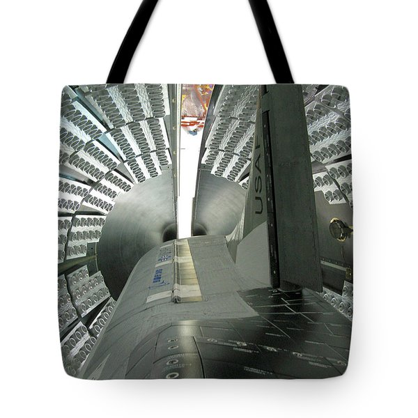 Tote Bag featuring the photograph X-37b Orbital Test Vehicle by Science Source