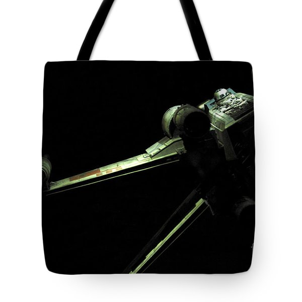 X-wing Fighter Tote Bag by Micah May