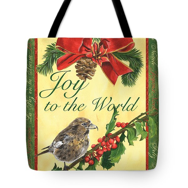 Xmas Around The World 2 Tote Bag by Debbie DeWitt