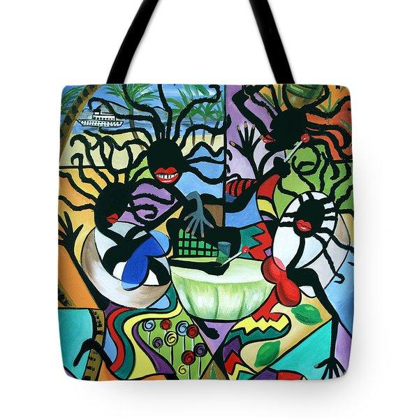 Ya Mon Tote Bag by Anthony Falbo