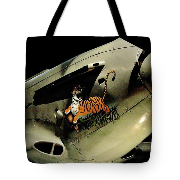 Yak 9 Tiger Tote Bag by Benjamin Yeager