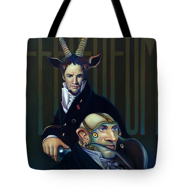 Yak Andrew Bienstjalk Tote Bag by Patrick Anthony Pierson