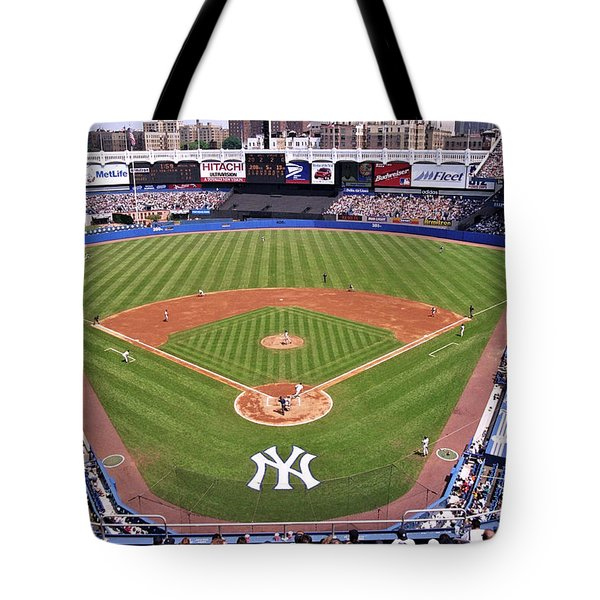 Yankee Stadium Tote Bag by Allen Beatty