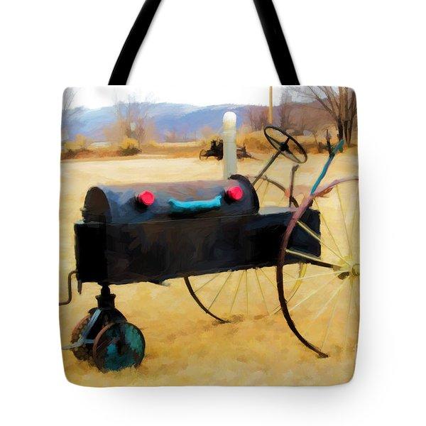 Yard Art Tote Bag by Jon Burch Photography