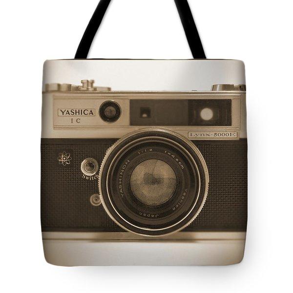 Yashica Lynx 5000E 35mm Camera Tote Bag by Mike McGlothlen