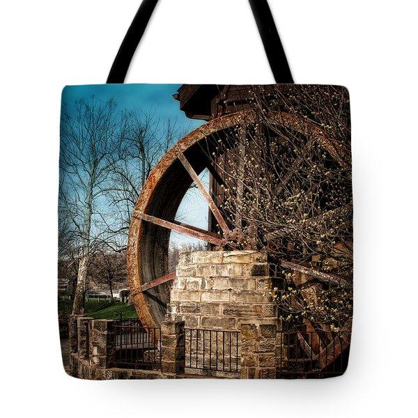 Ye Olde Mill Tote Bag by Tom Mc Nemar