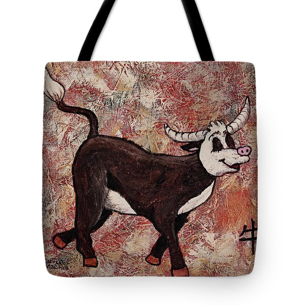 Year Of The Ox Tote Bag by Darice Machel McGuire