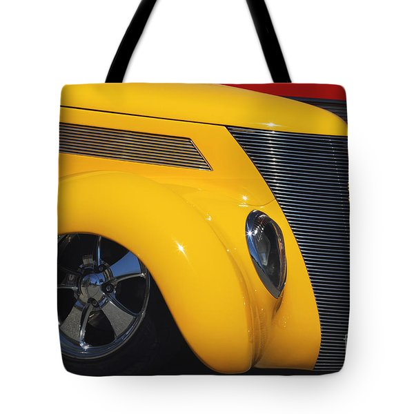 Yellow '37 Tote Bag by Dennis Hedberg