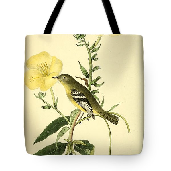 Yellow-bellied Flycatcher Tote Bag by Philip Ralley