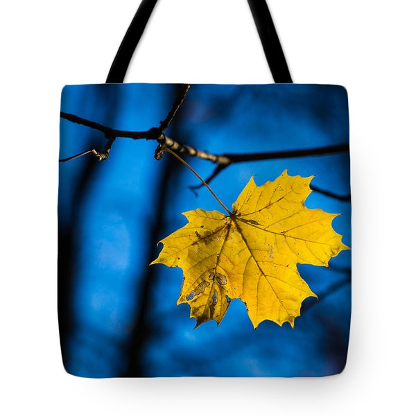 Yellow Blues - Featured 3 Tote Bag by Alexander Senin