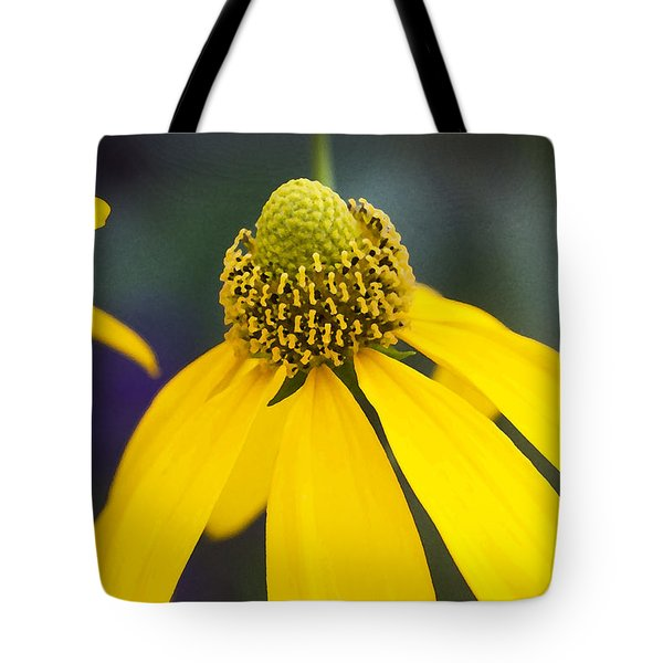 Yellow Cone Flower Rudbeckia Tote Bag by Rich Franco