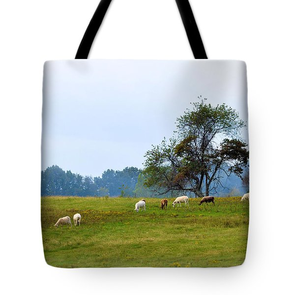 Yellow Fields Tote Bag by Jan Amiss Photography