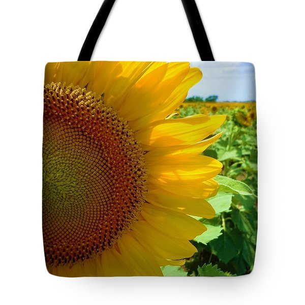 Yellow Glory #2 Tote Bag by Robert ONeil