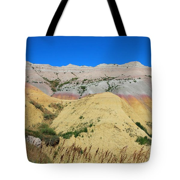 Yellow Mounds Badlands National Park Tote Bag by Jemmy Archer