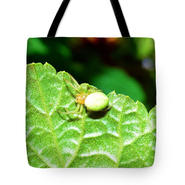 Yellow Spider  Tote Bag by Toppart Sweden