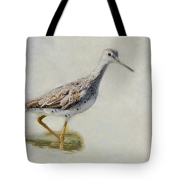 Yellowlegs Tote Bag by Bill Wakeley
