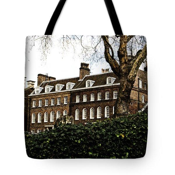 Yeoman Warders Quarters Tote Bag by Christi Kraft