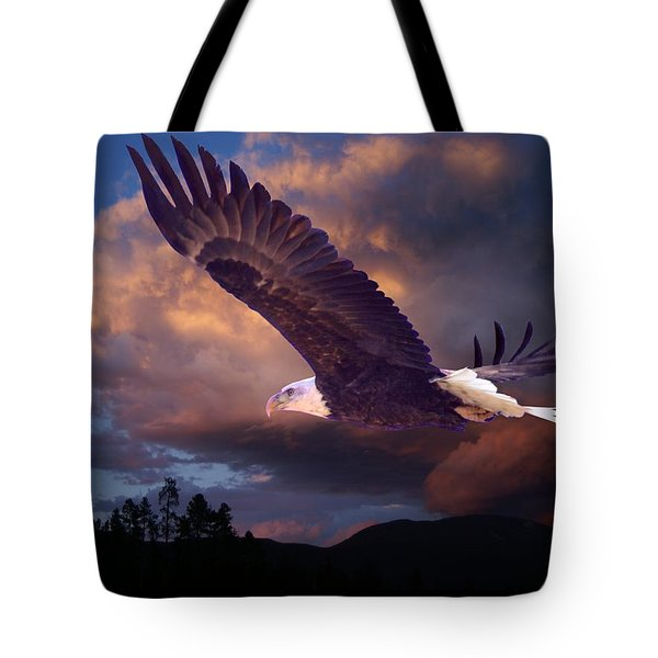 Yeshua Is Calling Tote Bag by Bill Stephens