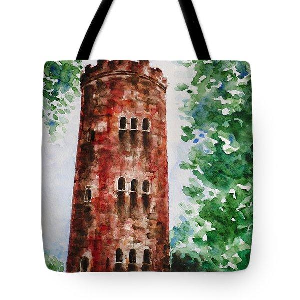 Yokahu Tower  Tote Bag by Zaira Dzhaubaeva