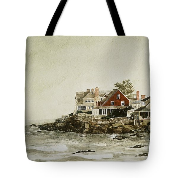 YORK BEACH Tote Bag by Monte Toon