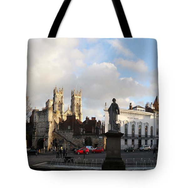 York Gallery Square Tote Bag by Neil Finnemore