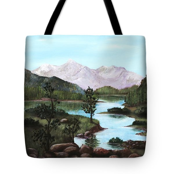 Yosemite Meadow Tote Bag by Anastasiya Malakhova