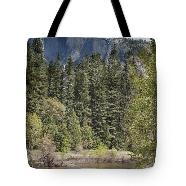 Yosemite National Park. Half Dome Tote Bag by Juli Scalzi