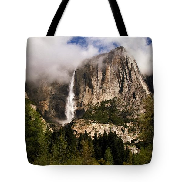 Yosemite Valley View Tote Bag by Donna Kennedy