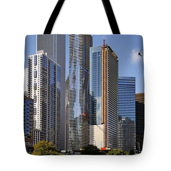 You Haven't Seen Chicago Until You've Been On The River Tote Bag by Christine Till